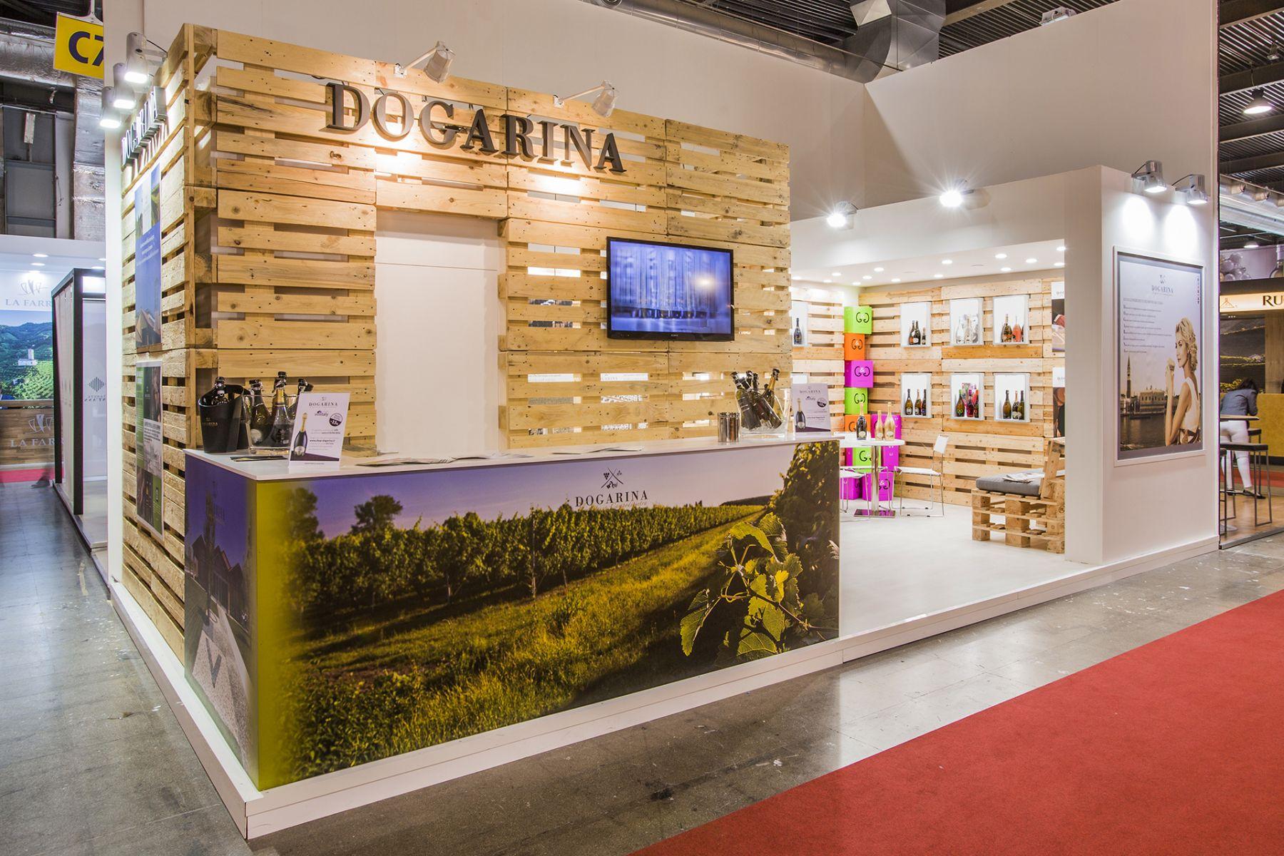 Molto Realizzazione Stand: VIGNA DOGARINA – VINITALY Verona 2016. costo  BX85