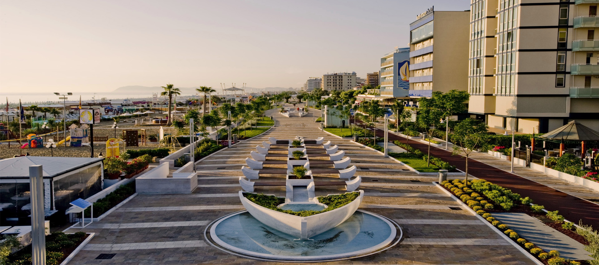Riccione Seaside Promenade And Underground Parking